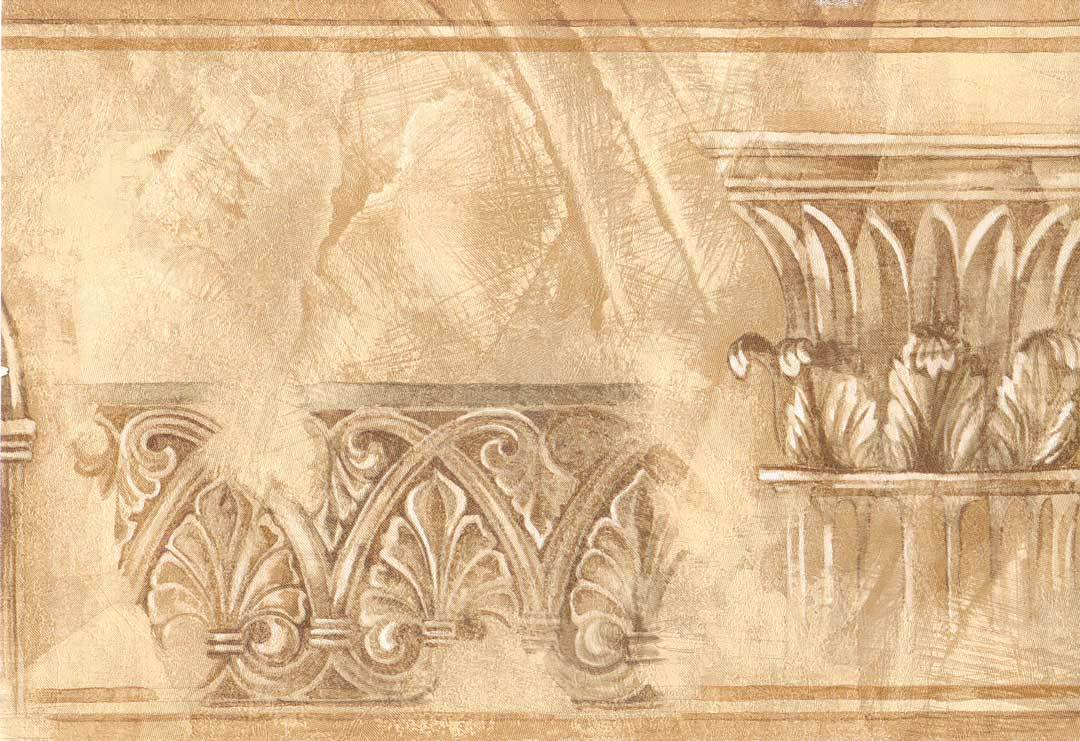Crown Molding Golden 45 feet length ONLY 12 Wallpaper Border 1034 1080x741