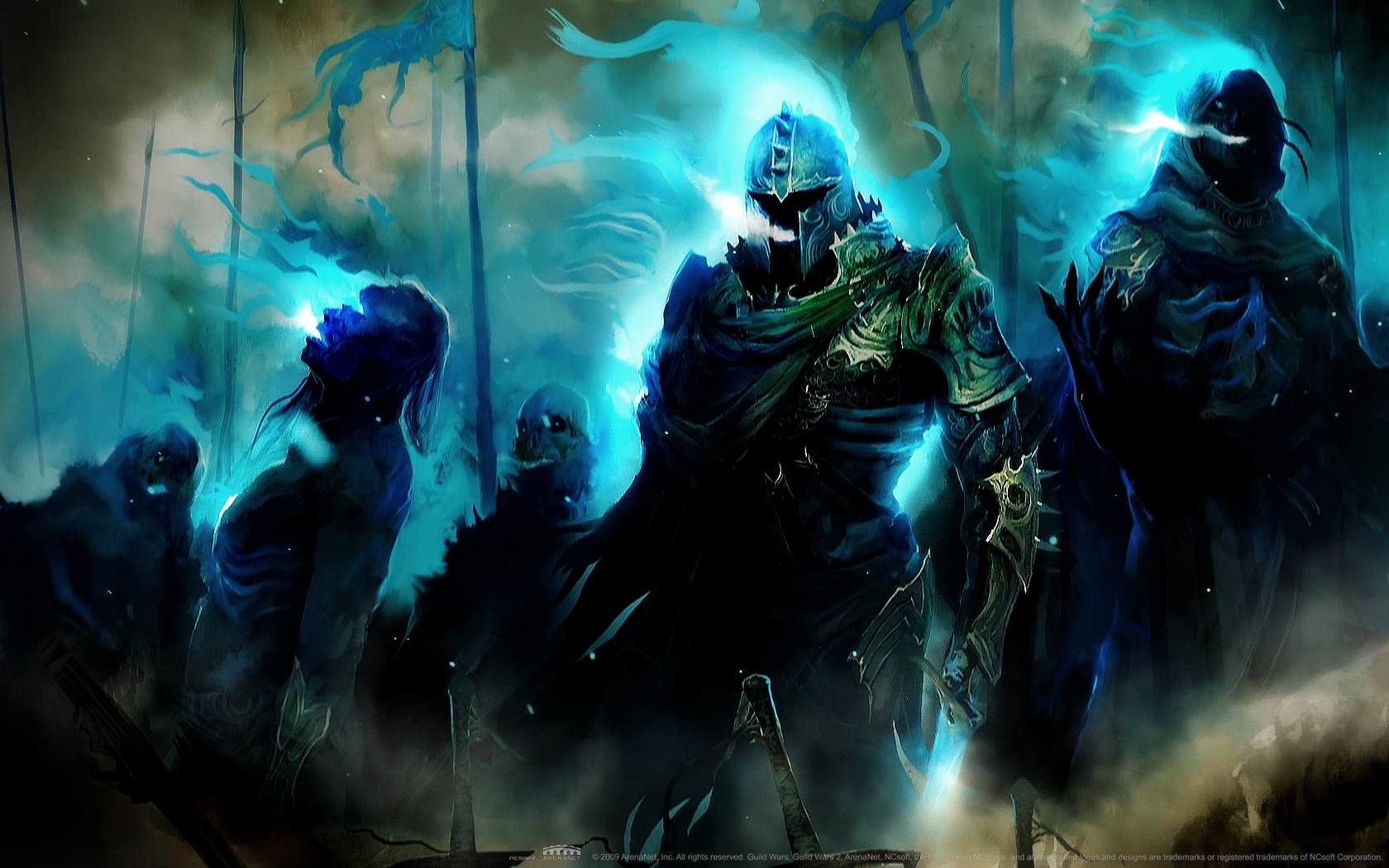 Guild Wars 2 is a fantasy MMORPG currently in development by ArenaNet 1680x1050