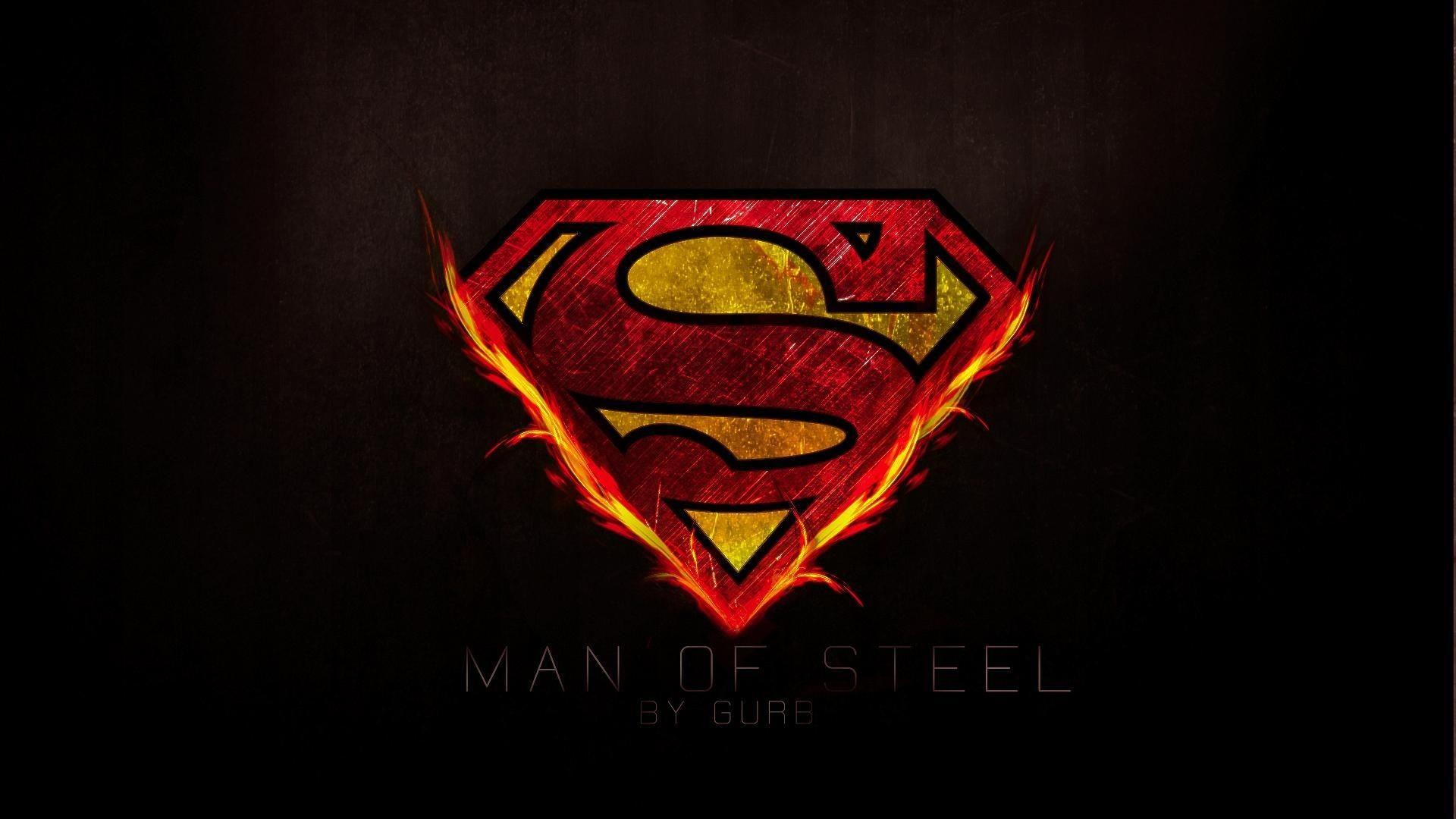 58 Wallpaper Logo Superman On Wallpapersafari