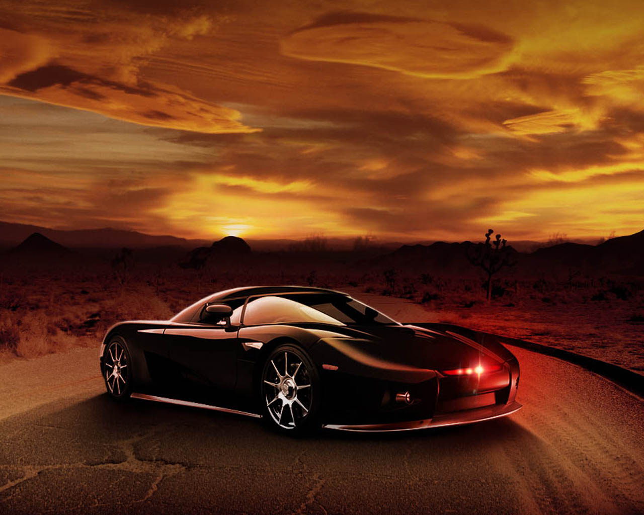 Knight Rider Desktop Wallpapers for HD Widescreen and Mobile 1280x1024