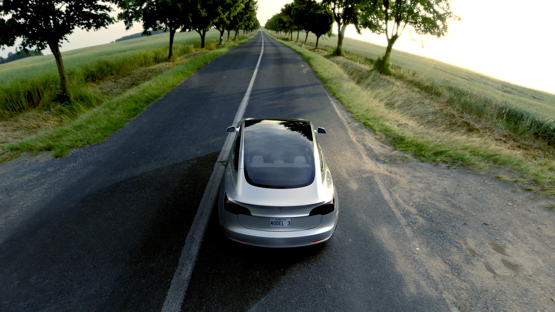 2880x1620px Tesla Model 3 Wallpaper Wallpapersafari