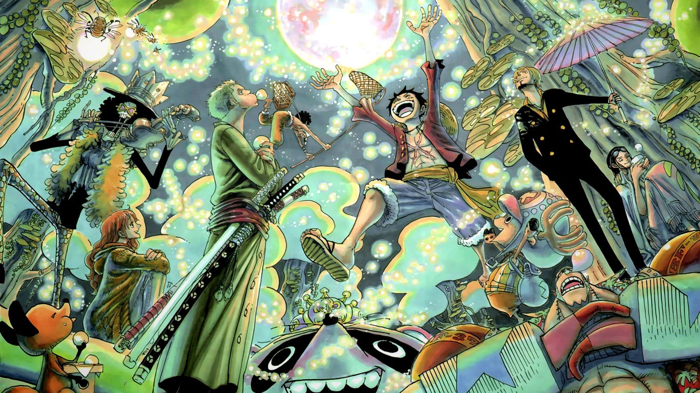 One Piece   1366x768   Wallpaper 583 on WallpaperMade 1366x768