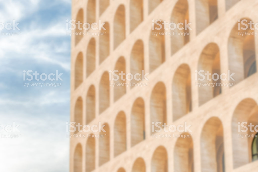 Defocused Background Of Neoclassical Architecture In Rome Italy 1024x683