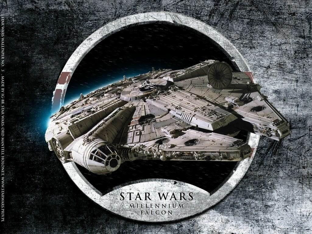 Free Download Star Wars Millennium Falcon Star Wars Wallpaper