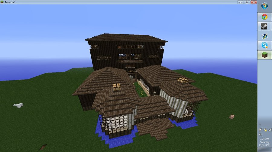 Minecraft Mansion by DerekMartian on deviantART Top HD Wallpapers 900x506