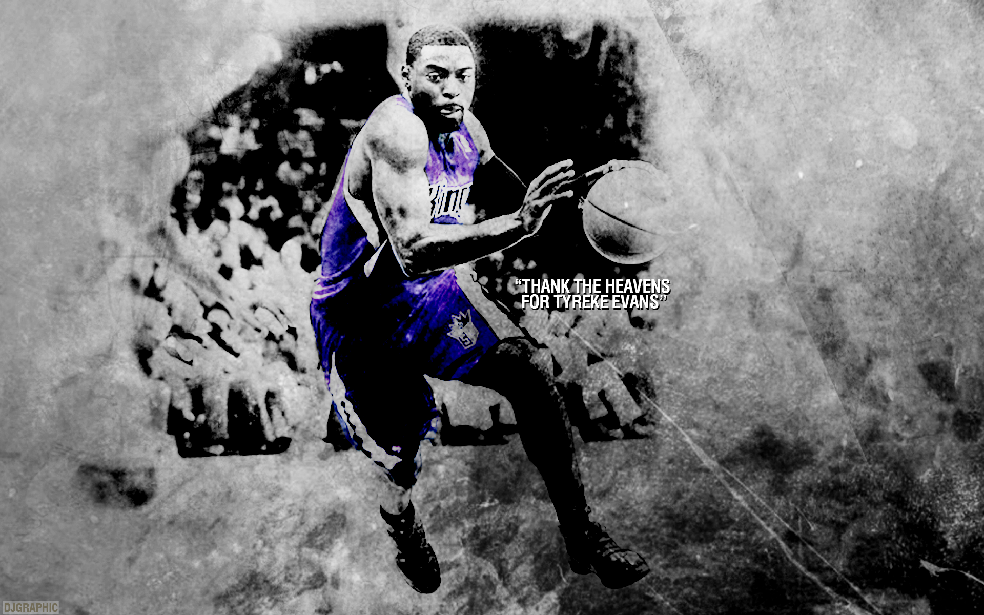 Tyreke Evans by DJgraphic 1920 x 1200 1920x1200