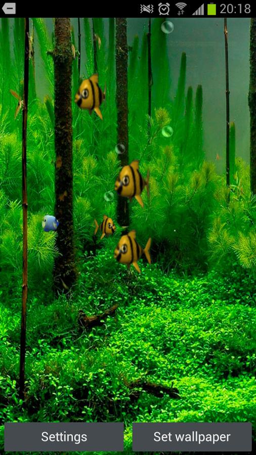 Aquarium 3D Live Wallpaper   screenshot 506x900