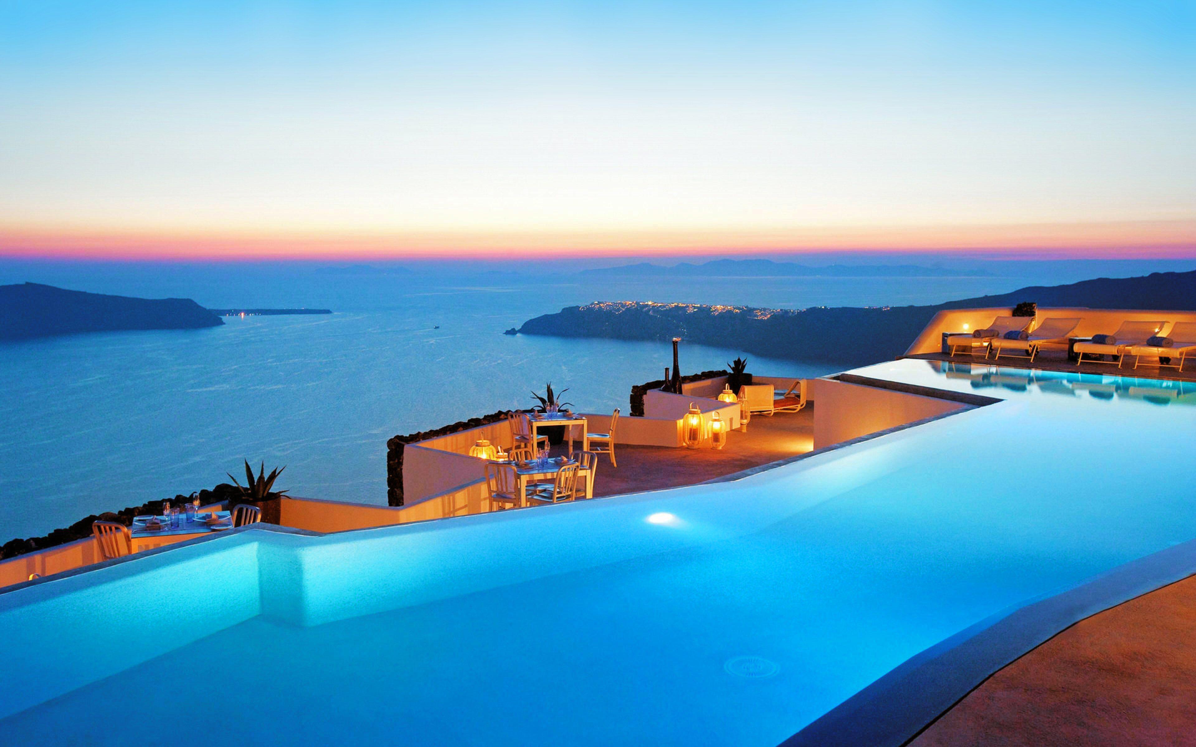 45 Santorini Sunset Wallpapers   Download at WallpaperBro 3840x2400