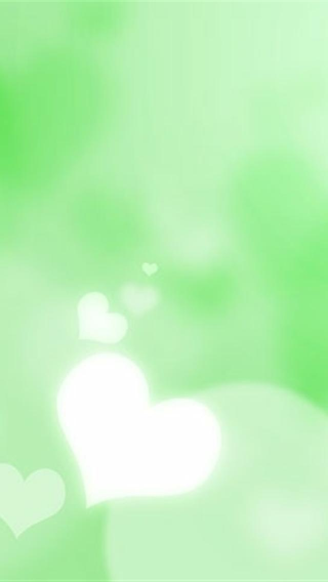 Cute Heart Wallpapers For Iphone Cute green heart iphone 5 hd 640x1136