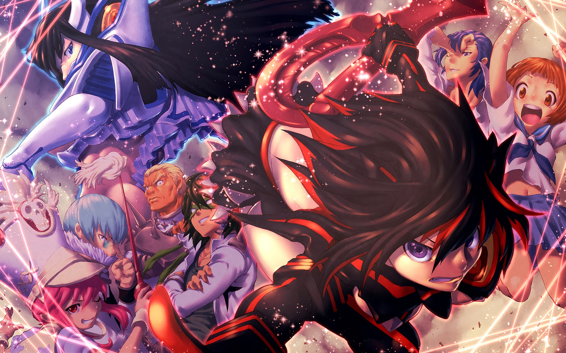 Anime Manga Kill La Kill Anime Character Anime Girls Anime Art 1920x1200