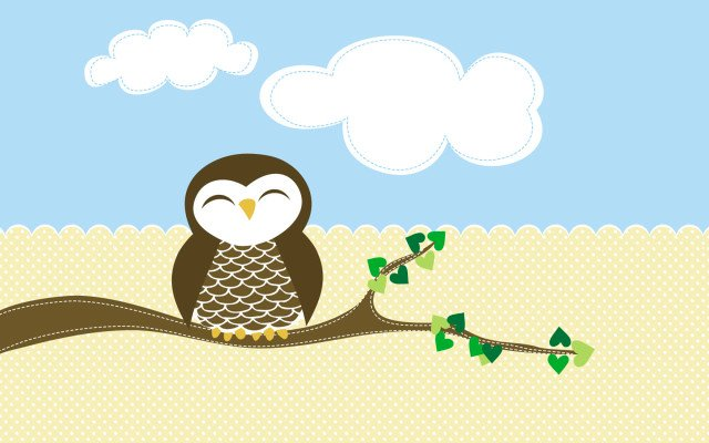 cute cartoon owl wallpaper wallpapersafari