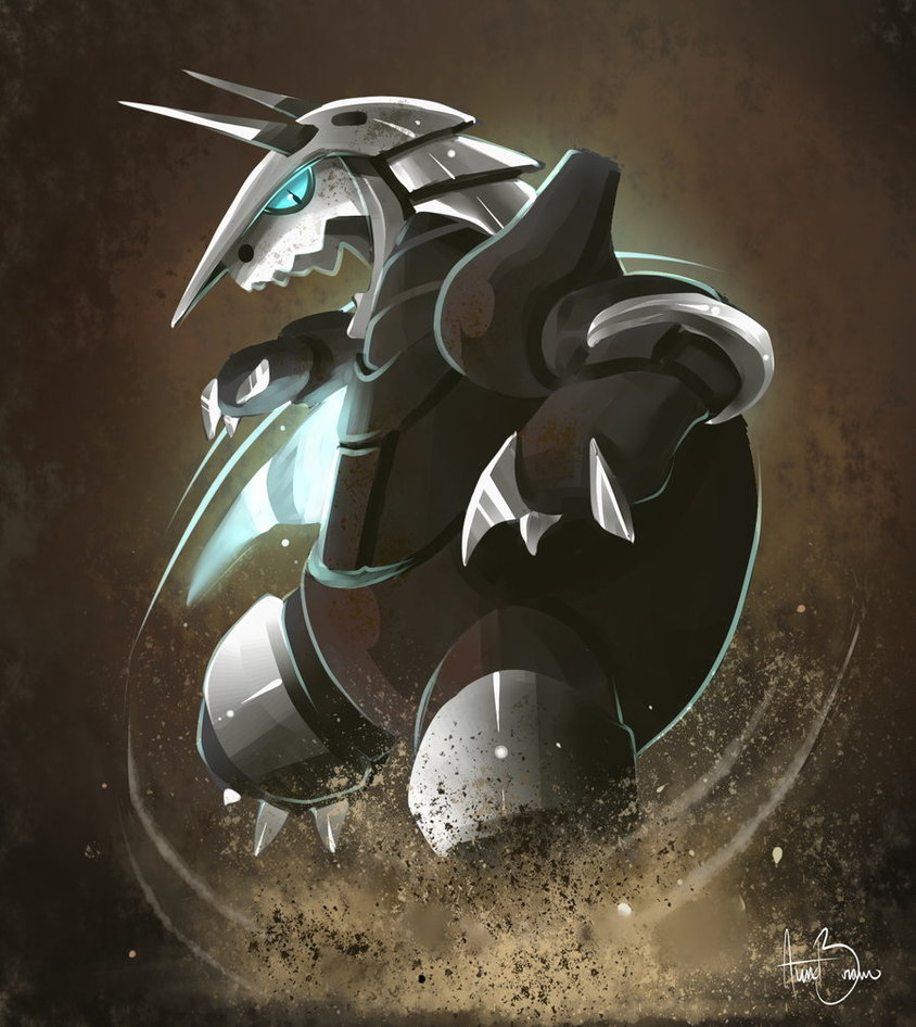 Aggron Steel Tail by RhythmAx 844x946