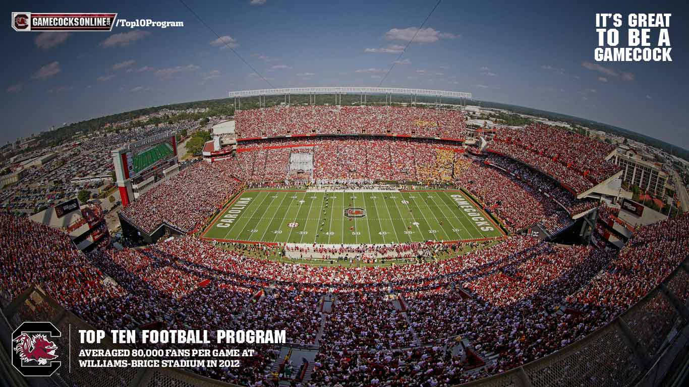University Of Texas Football Wallpaper 2013 14 south carolina desktop 1366x768