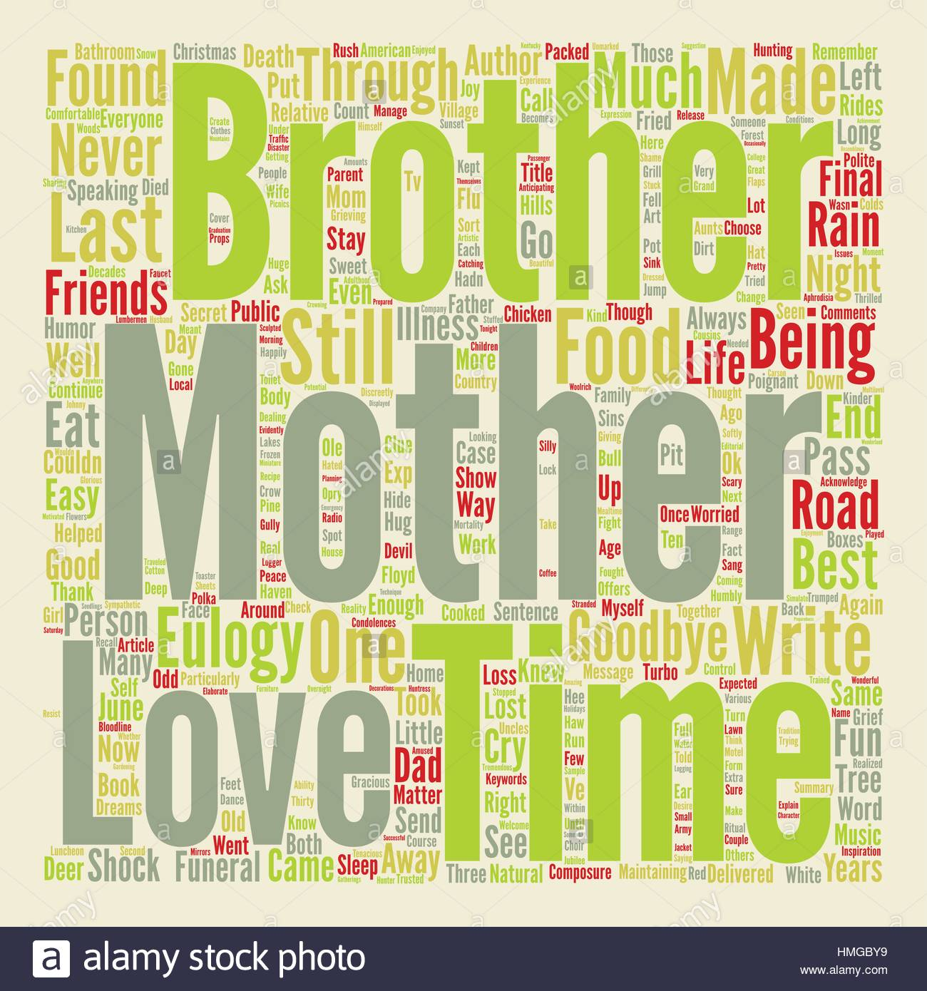 Choose Life A Eulogy For My Mother text background word cloud 1300x1390