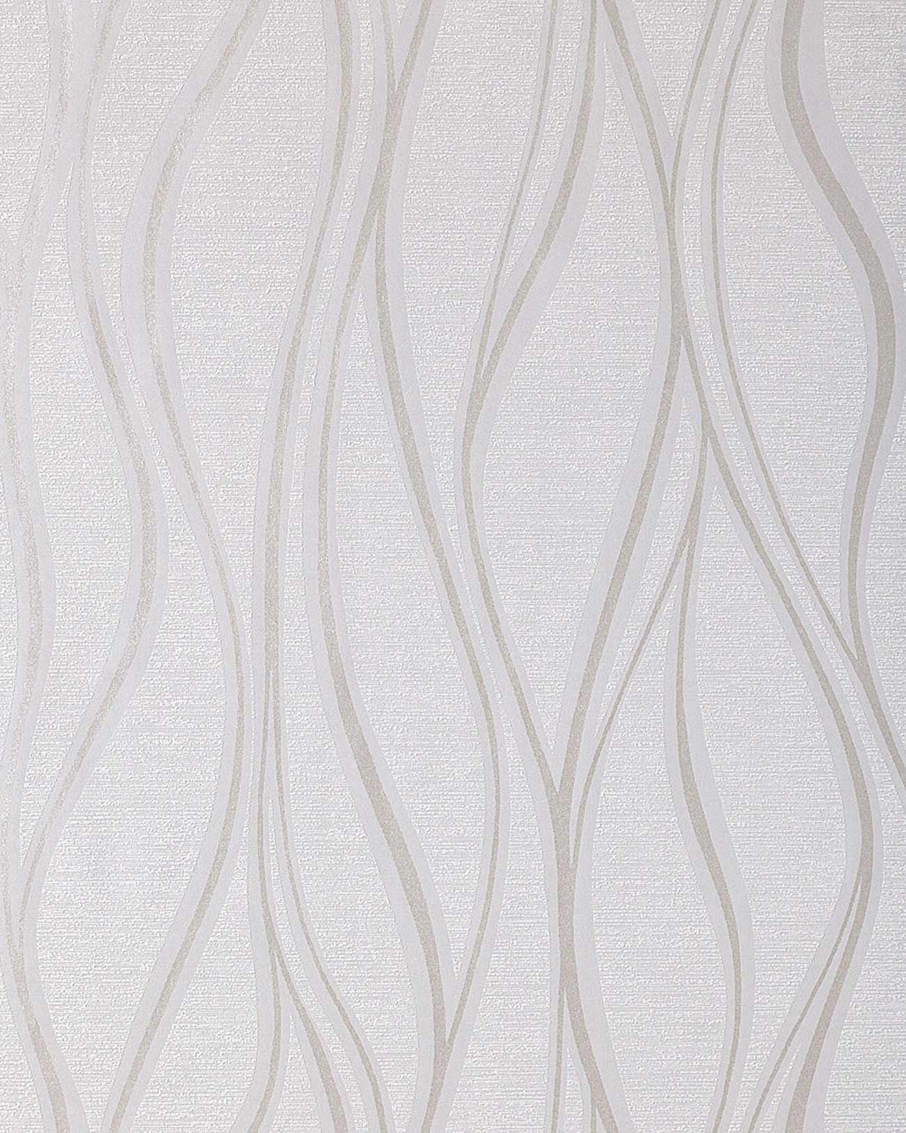 Stripe vinyl wallpaper wall EDEM 147 02 light grey white silver grey 1300x1625