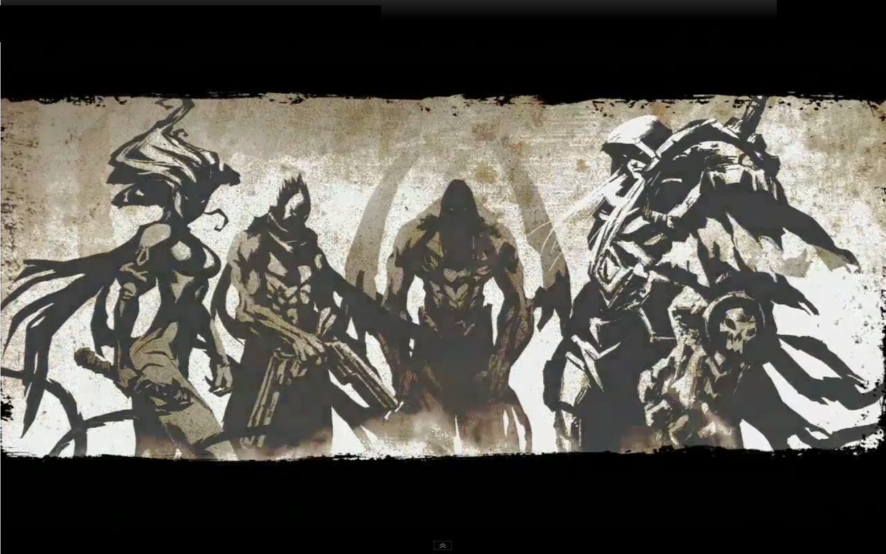 Darksiders Four Horsemen Wallpaper All HD Wallpapers 1280x800