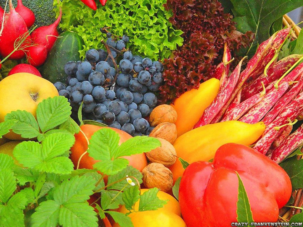 Fruits and vegetables wallpapers 2 1024x768
