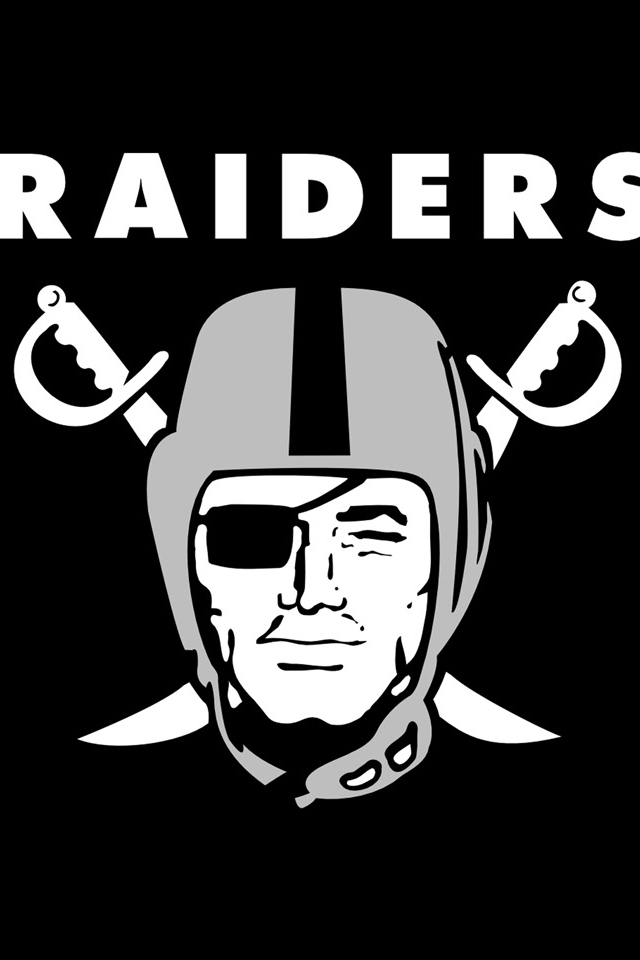 Oakland Raiders Hd Iphone Wallpapers 5 640x960