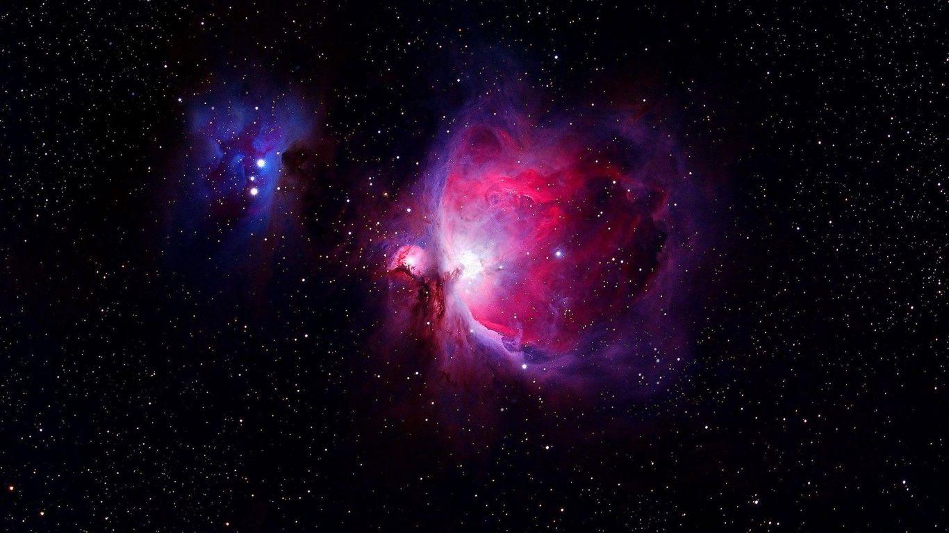 Orion nebula wallpaper 1366x768