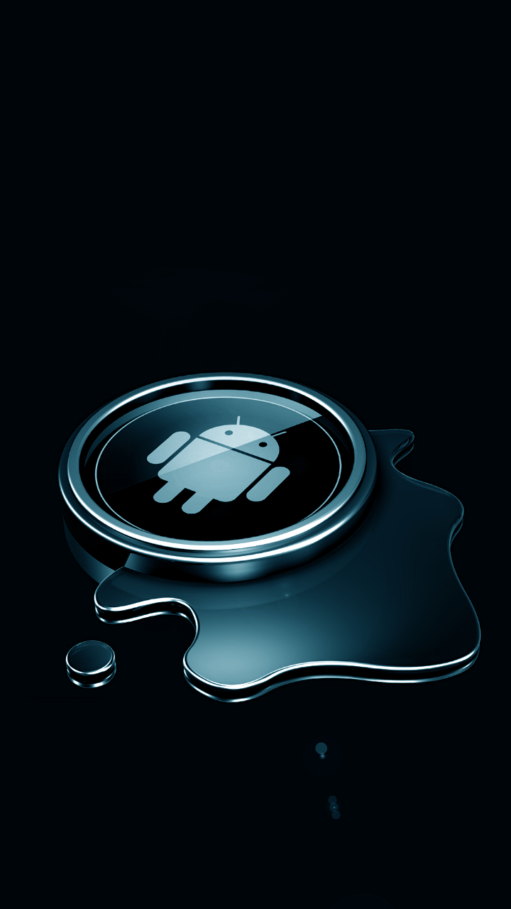 HTC One X Wallpapers Metal Blue android wallpaper Android Wallpapers 720x1280