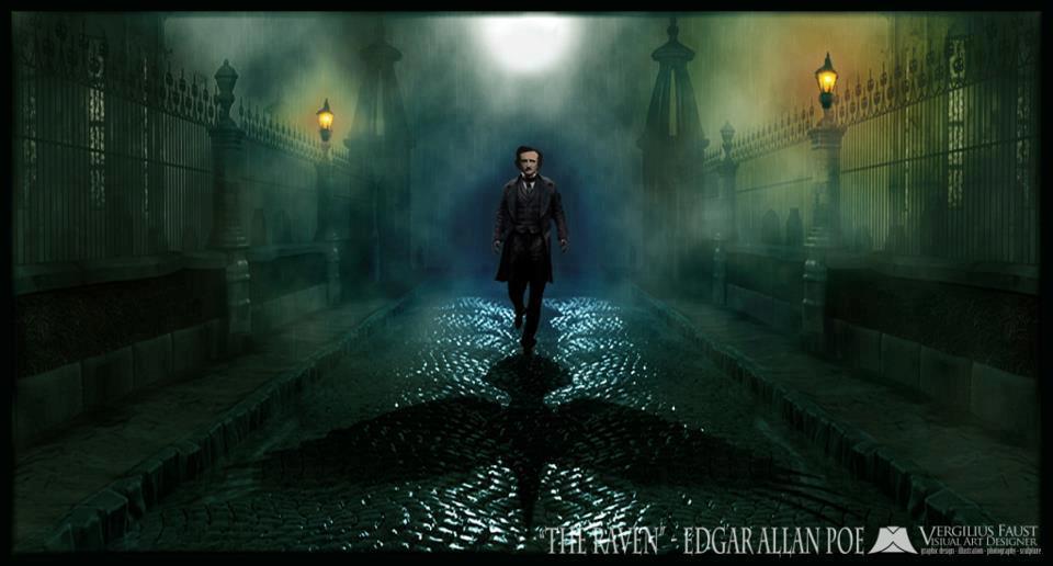Gothic World Edgar Allan Poe   O corvo 960x516