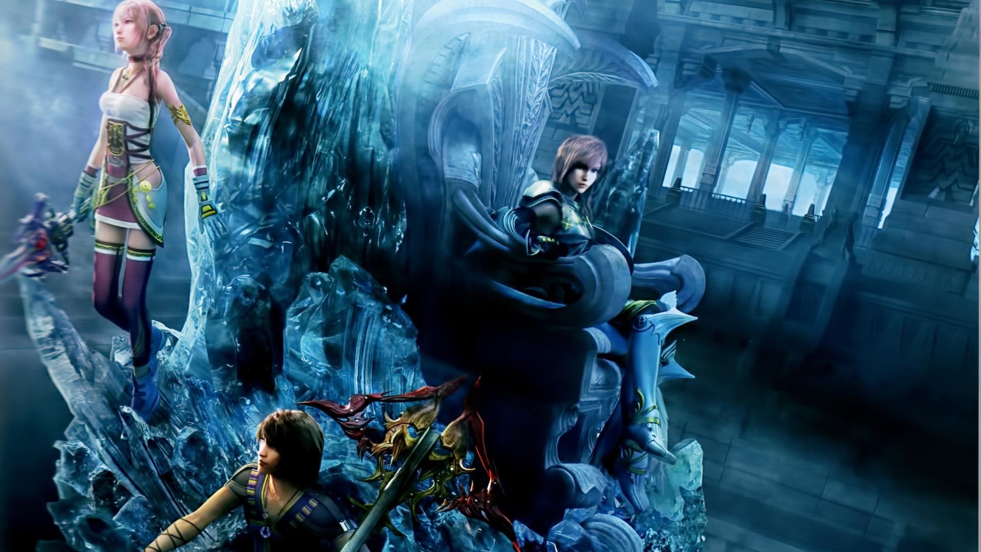 Final Fantasy 13 Wallpaper Hd Wallpapersafari