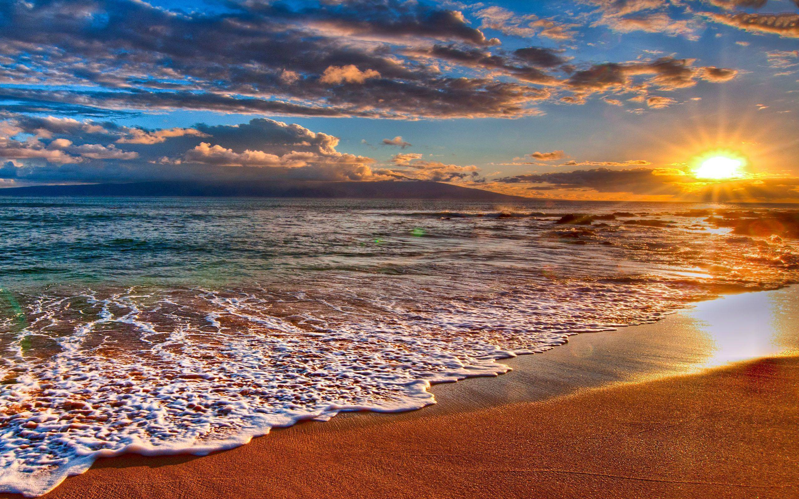 Desktop Backgrounds Beach Sunset   wallpaper 2560x1600