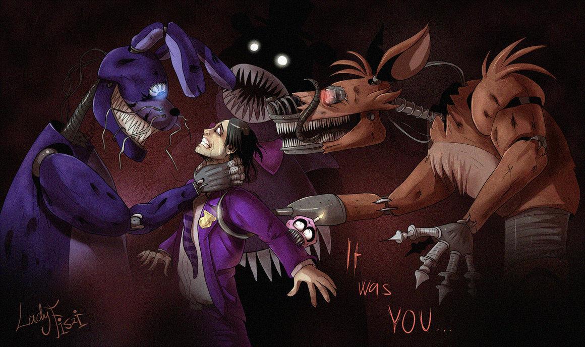 Free Download Fnaf 4 Purple Guys Punishement By Ladyfiszi