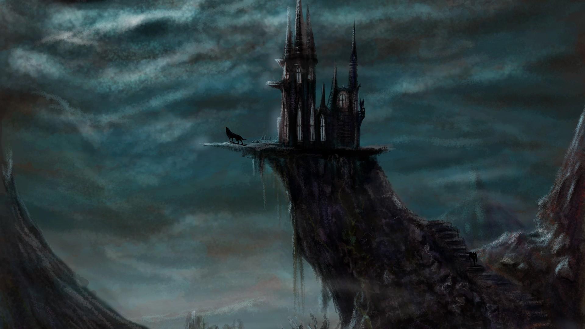 Eerie Castle Wallpaper Eerie Castle iPhone Wallpaper Eerie Castle 1920x1080