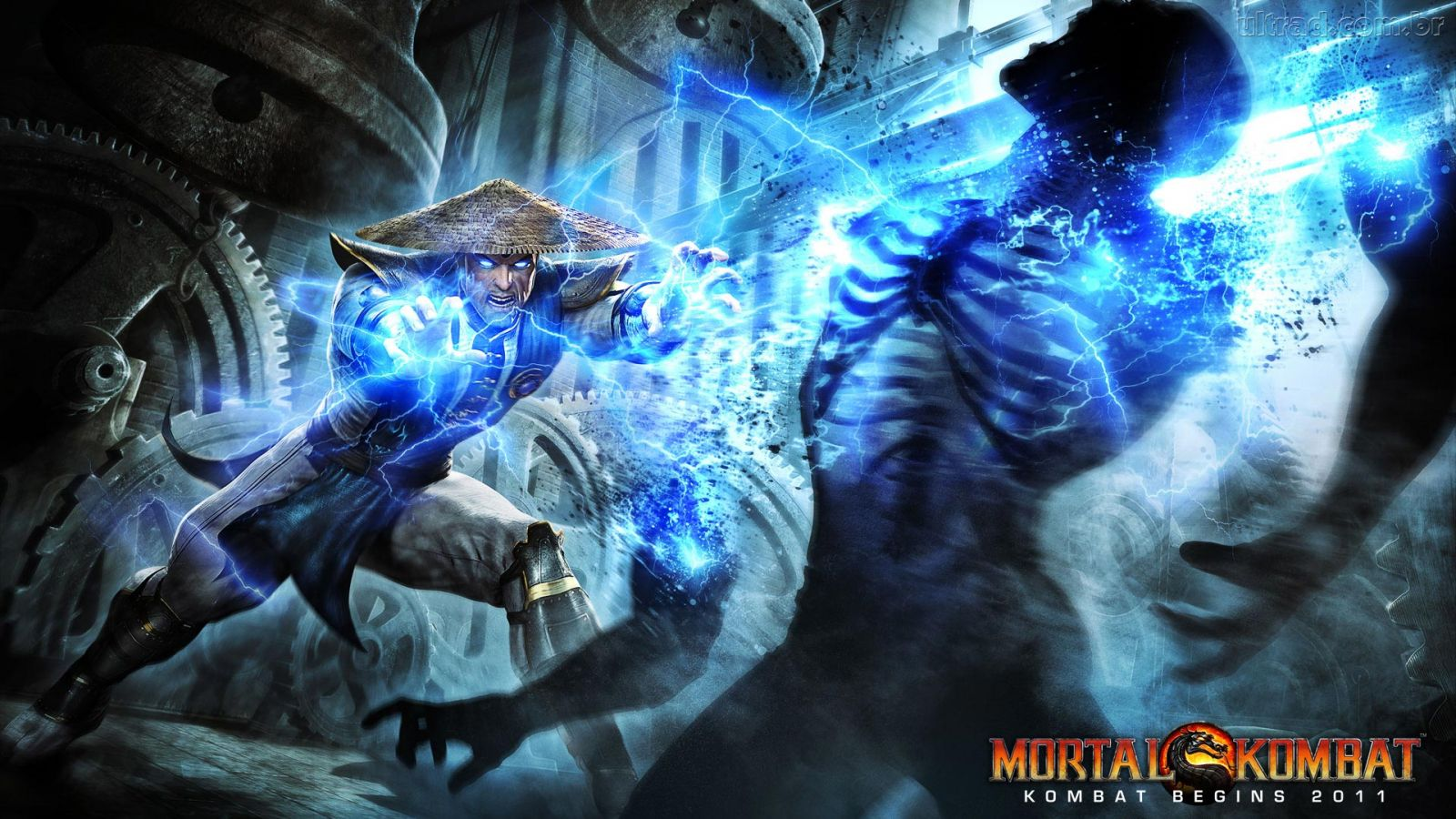 42 Hd Raiden Wallpaper On Wallpapersafari: Raiden Mortal Kombat X Wallpaper