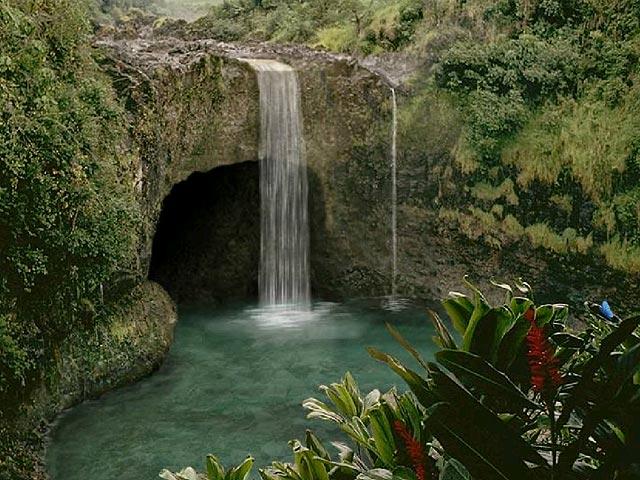 Living waterfalls screensaver 640x480