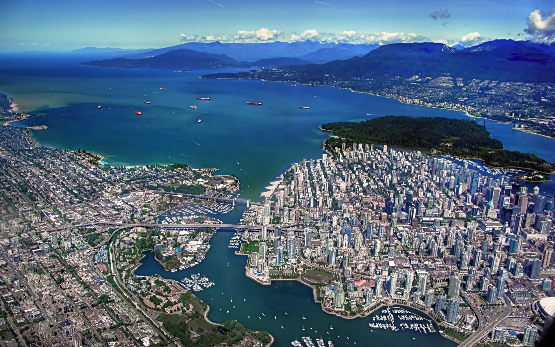 Vancouver fond ecran hd 1920x1200