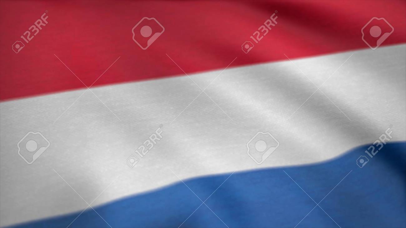 Luxembourg Flag Waving Seamless Loop Flag Of Luxembourg 3D 1300x731