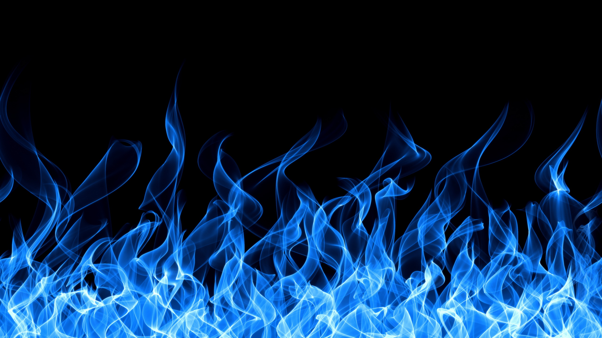 Blue Fire Wallpaper Images amp Pictures   Becuo 2560x1440