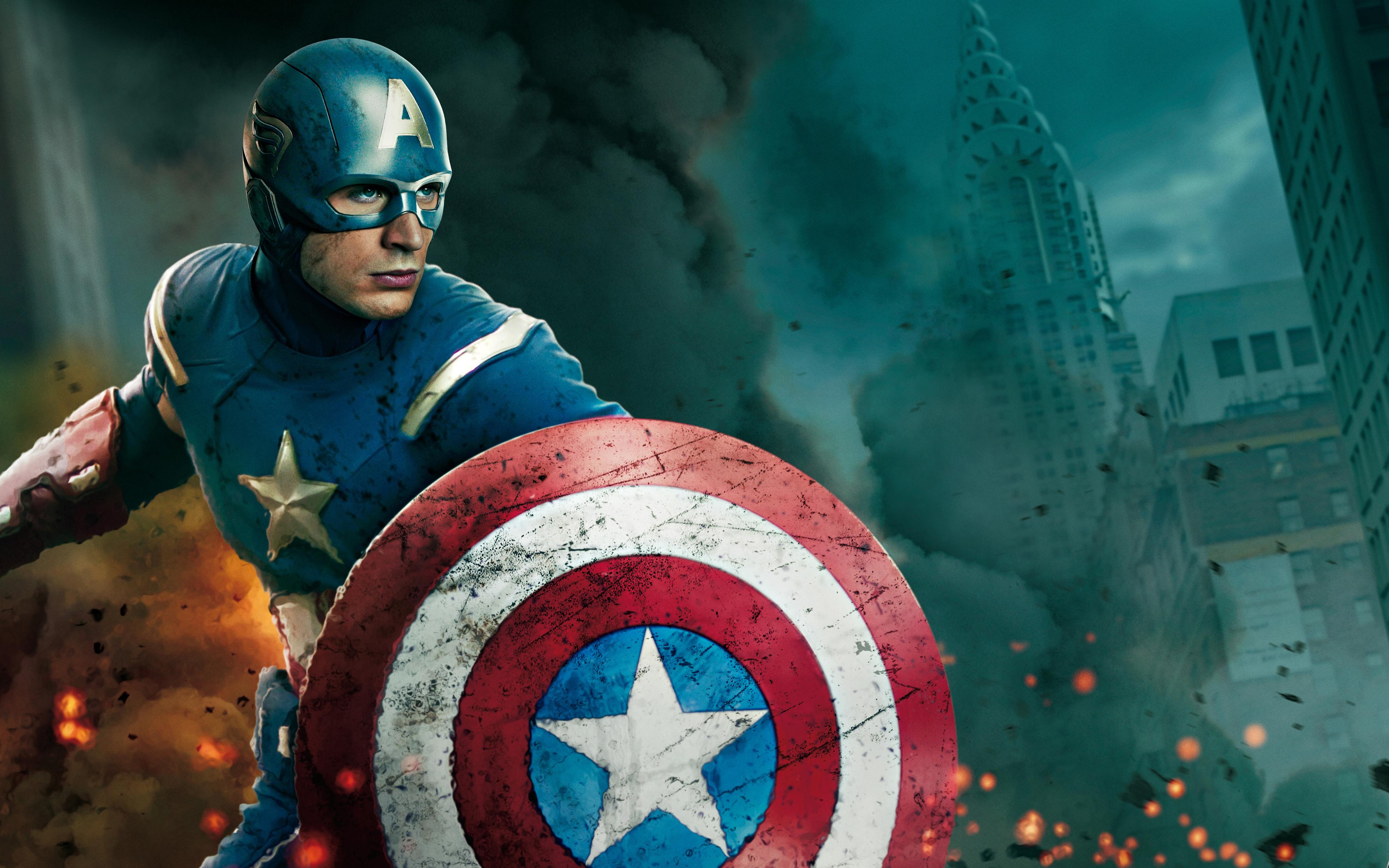 Action Movie Captain America Wallpaper Wallpaper WallpaperLepi 4000x2500