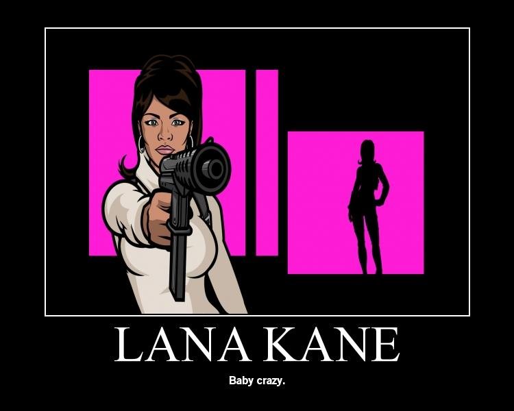 Lana Kane Is by UglyKatsuki 750x600
