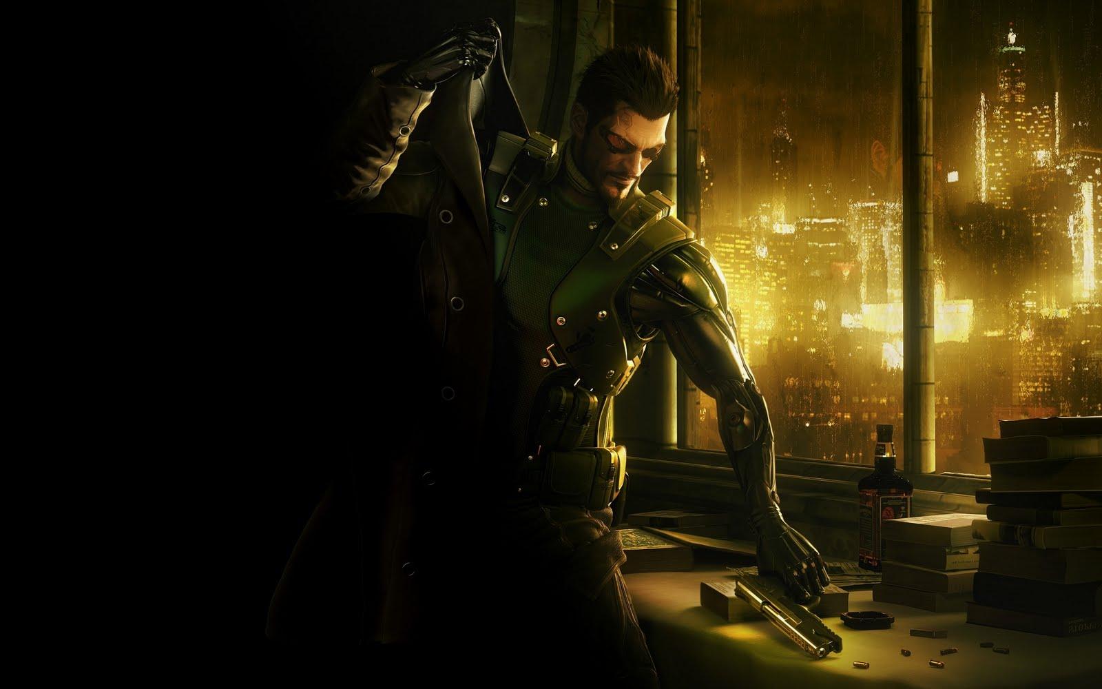 Videogames Universe Deus Ex Human Revolution   Wallpaper in HD 1600x1000