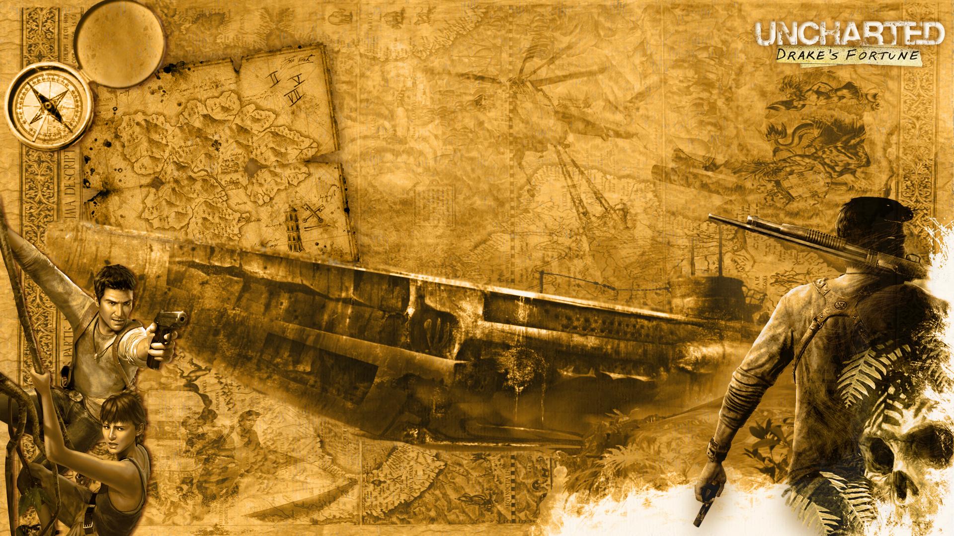Uncharted wallpaper 1920x1080