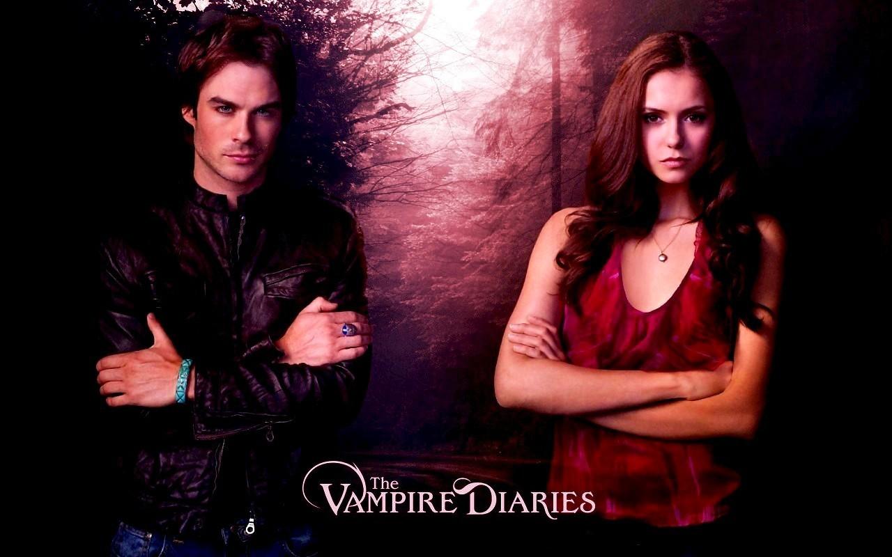 Damon and Elena   Damon amp Elena Wallpaper 9736664 1280x800