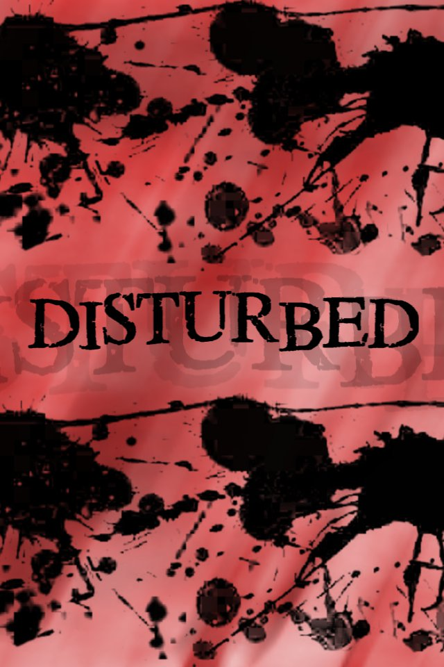 Download music wallpaper Disturbed with size 640x960 pixels for 640x960