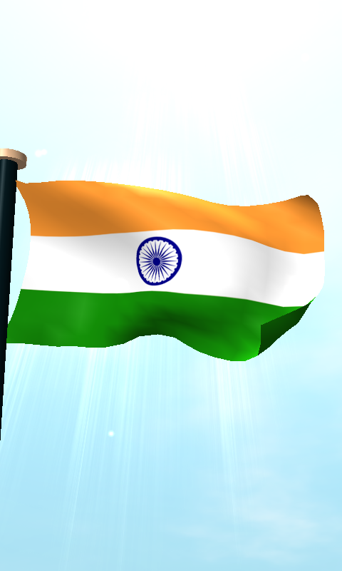 Indian national flag wallpaper 3d wallpapersafari - Indian flag hd wallpaper for android ...