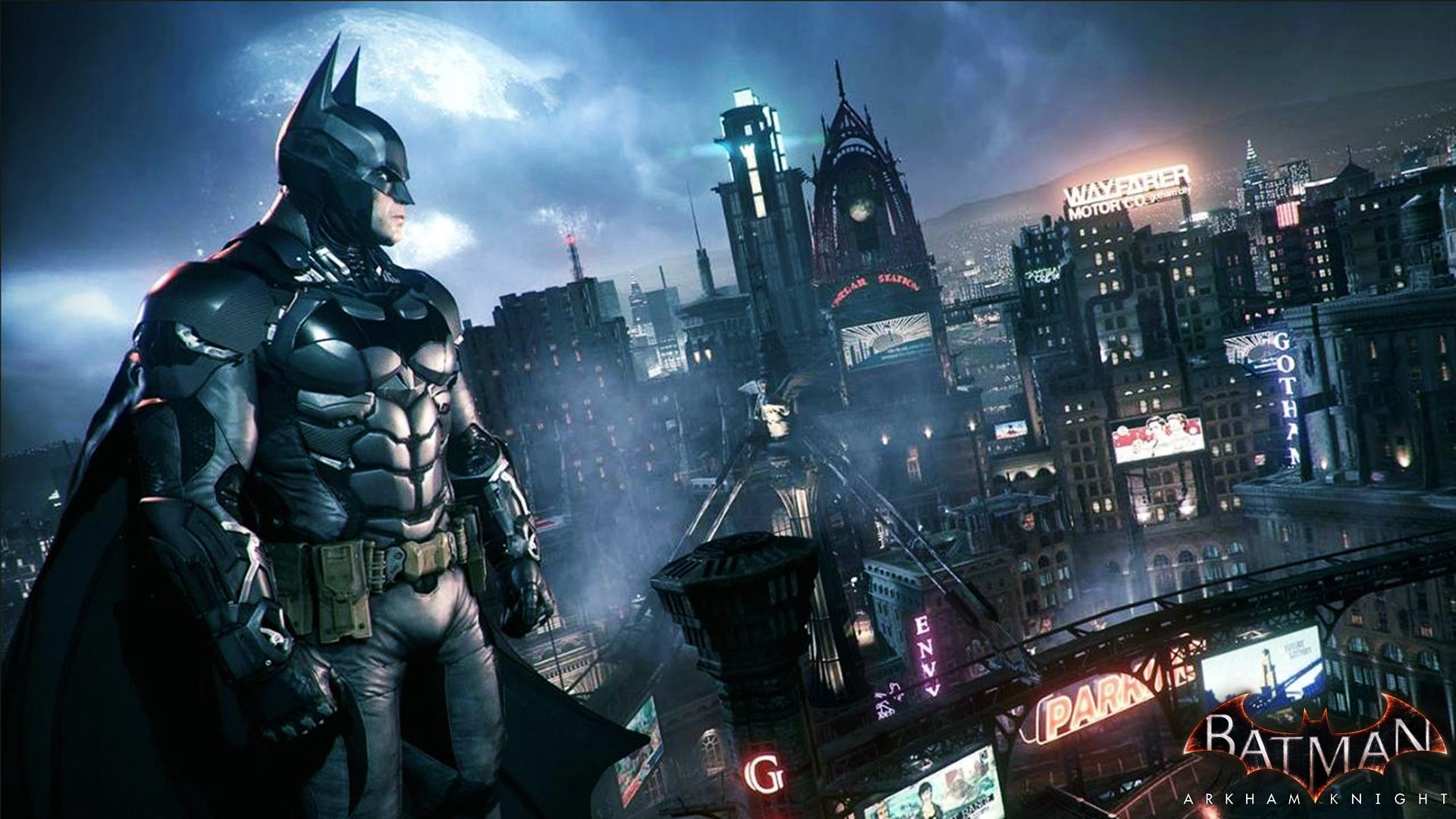 2014 Batman Arkham Knight Wallpaper HD 1920x1080