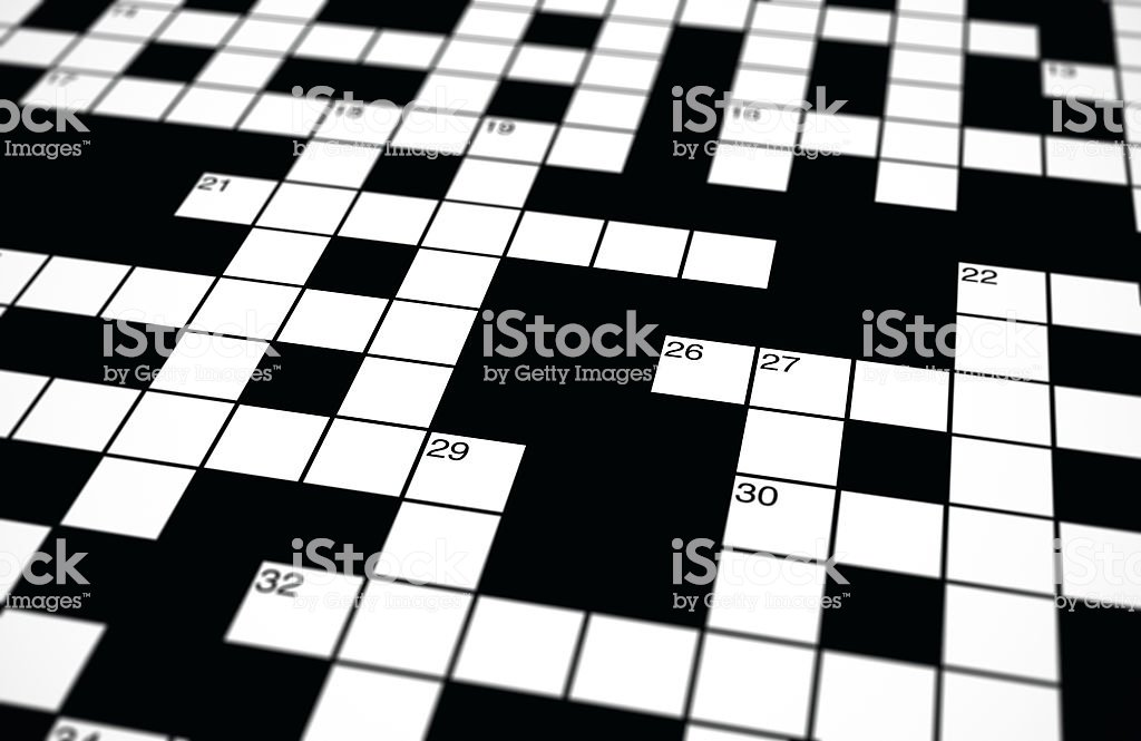 Crossword Background Stock Photo   Download Image Now   iStock 1024x665