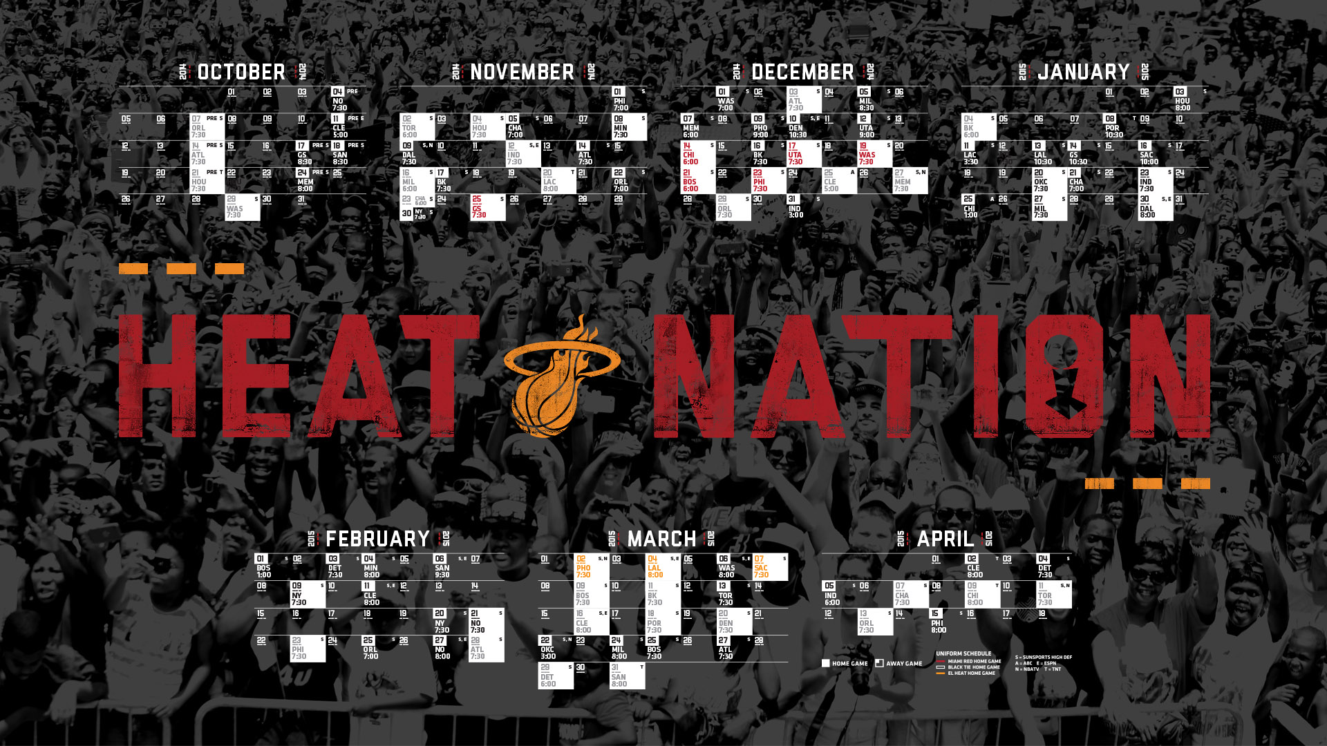 66 Miami Heat Logo Wallpaper 2015 On Wallpapersafari