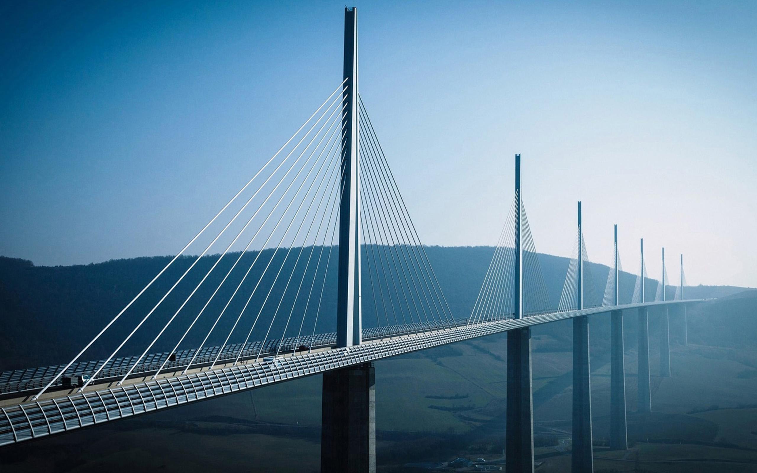 Modern Large Bridge Architecture HD Wallpaper 22668 Wallpaper 2560x1600