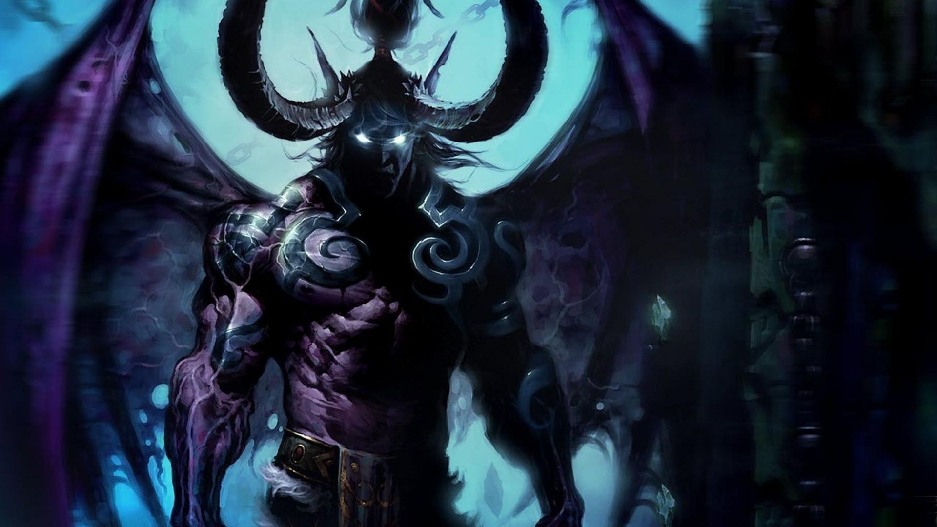 48 World Of Warcraft Illidan Wallpaper On Wallpapersafari