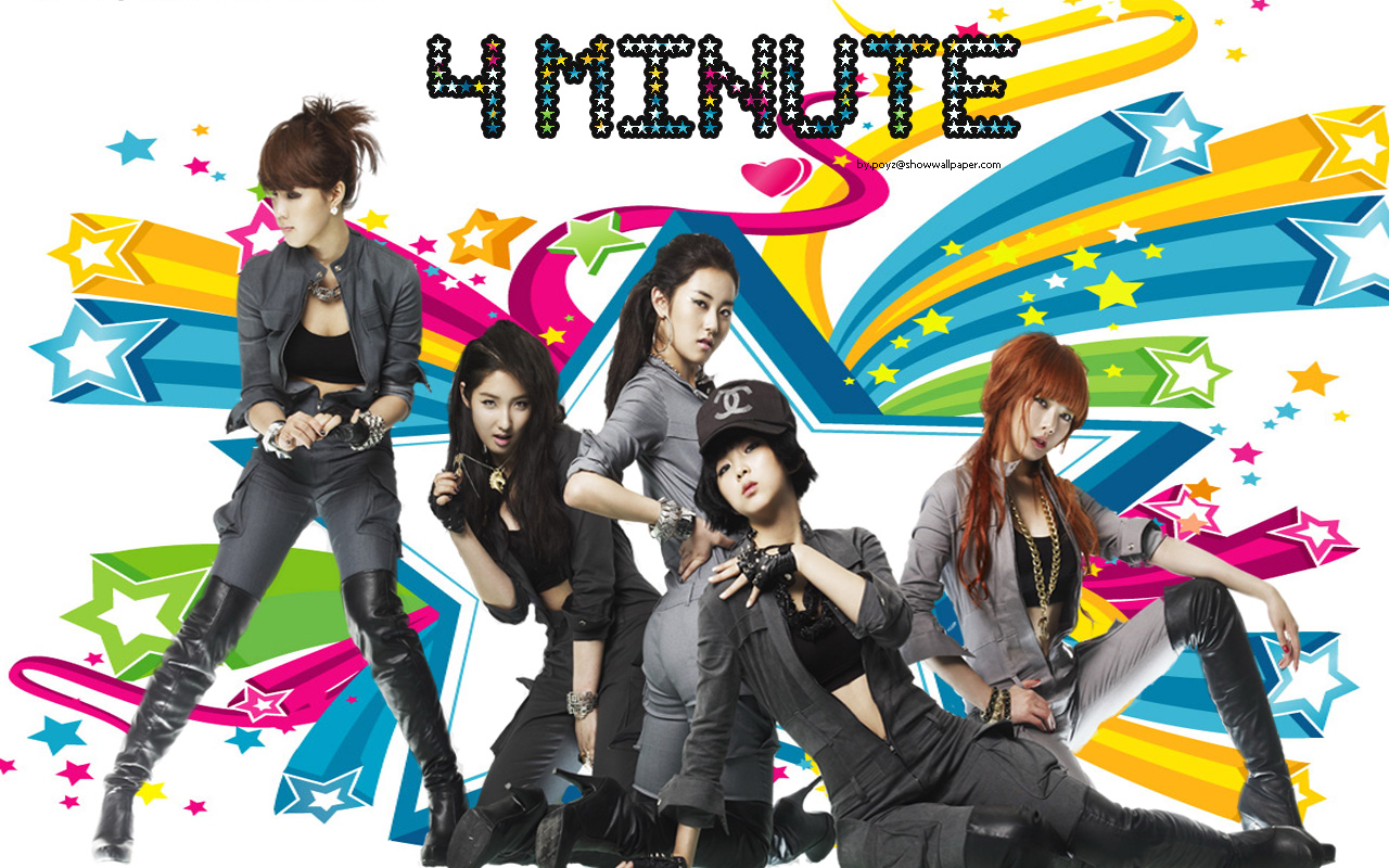 4Minute Wallpaper and Background 1280x800 ID518623 1280x800