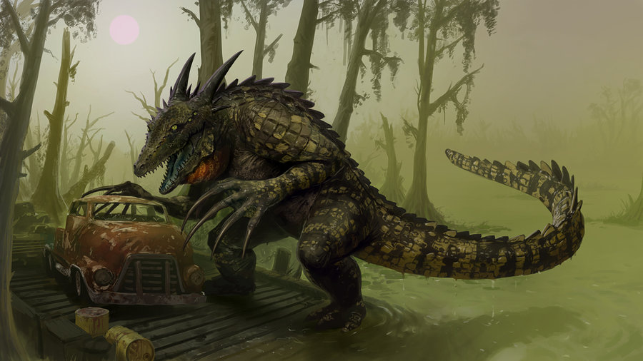 Fallout Concept The Crococlaw by Jedi Art Trick 900x506