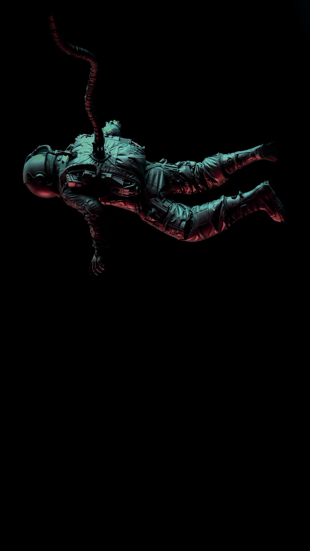Astronaut amoled wallpaper Cool Wallpapers   heroscreencc 1080x1920