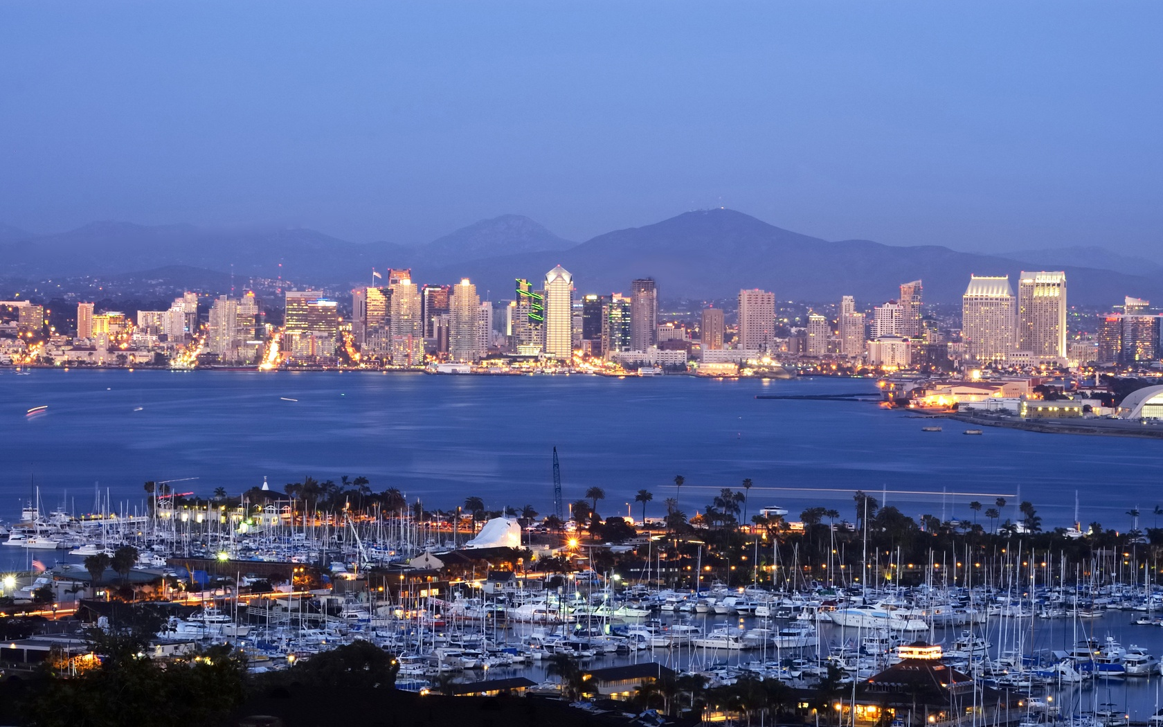 San Diego wallpaper 1680x1050